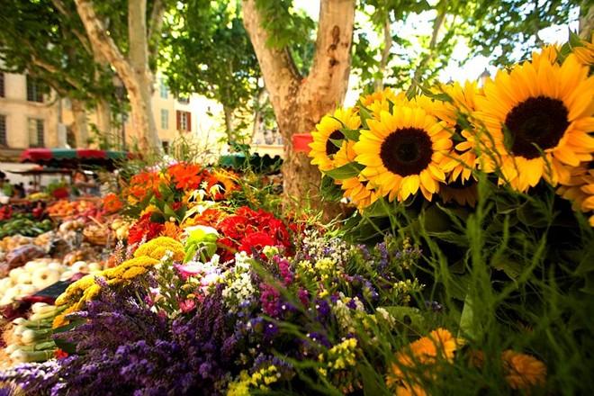 Các hàng hoa đóng cửa rất muộn, khoảng 1h sáng, lúc đó bạn sẽ dễ dàng được khuyến mại thêm một vài bông