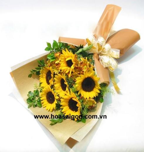 Ý nghĩa của hoa hướng dương: tượng trưng cho tình yêu vĩnh cửu