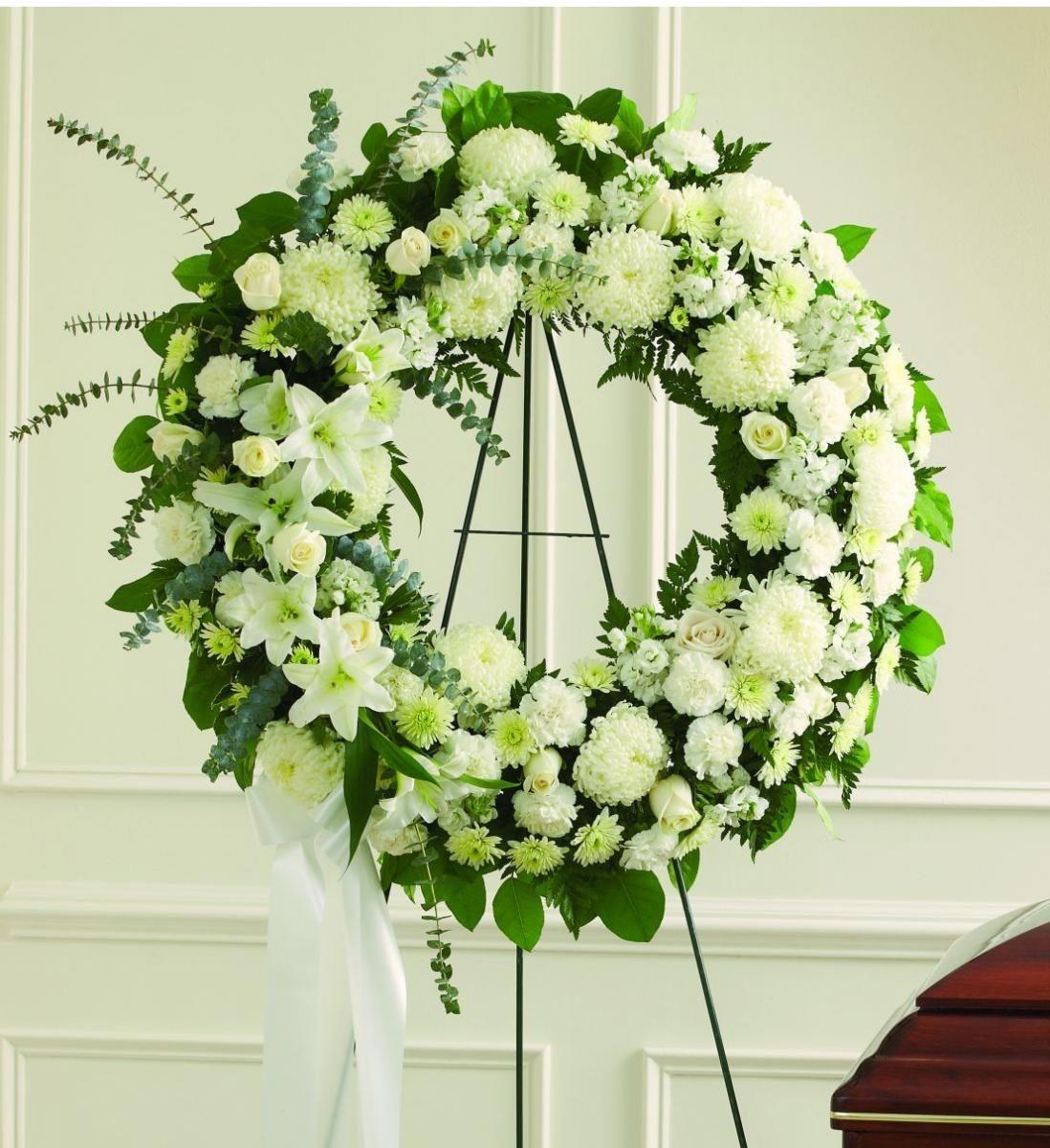Lưu ý khi đặt hoa đám tang ý nghĩa
