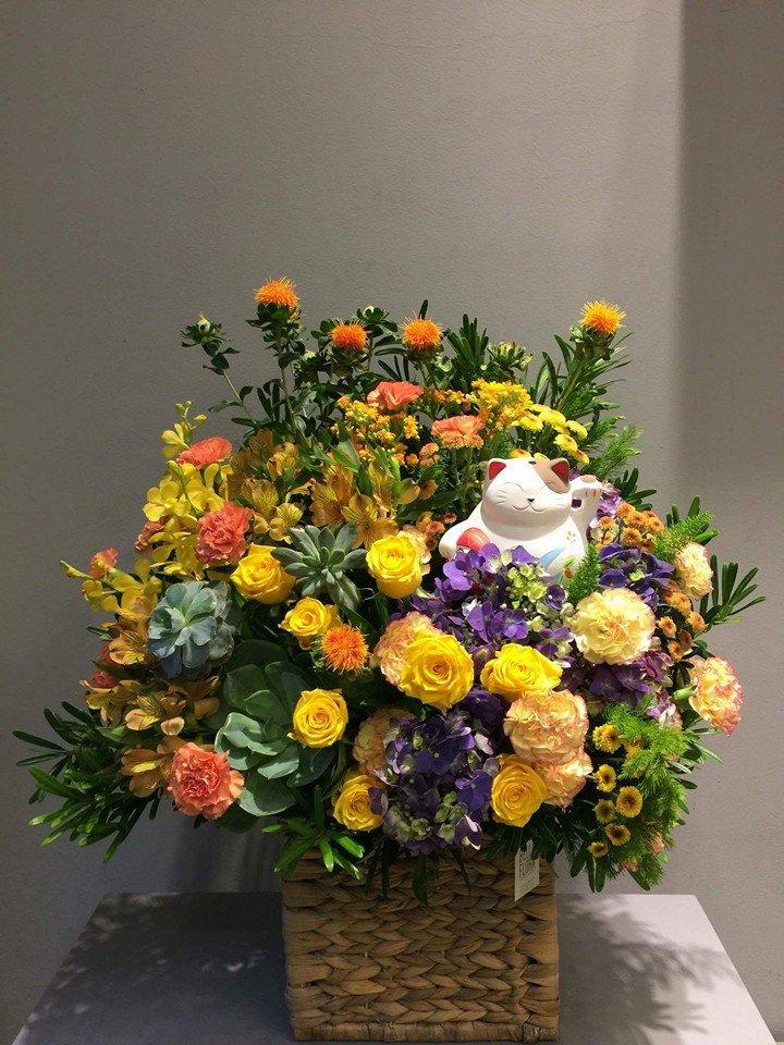 Quà tặng khai trương cửa hàng là hoa tươi độc đáo và ý nghĩa