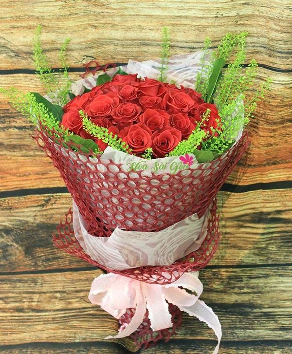 Bó hoa Tình yêu diệu kỳ khiến người nhận sẽ đắm say ngay từ cái nhìn đầu tiên